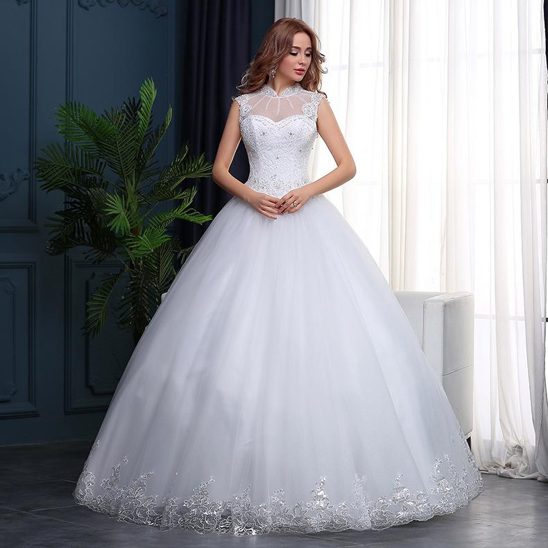 Wty97 New 2018 Korean Style Wedding Dresses Sleeveless Bridal Gown Buy Bridal Gown Sleeveless Bridal Gown New 2018 Korean Style Wedding Dresses