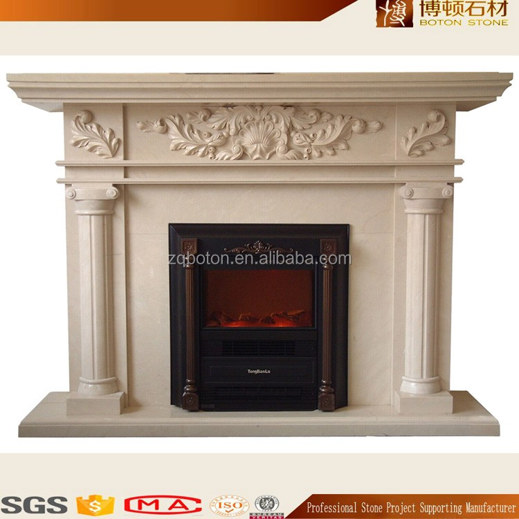 Indoor Used Without Remote Control Electric Fireplace