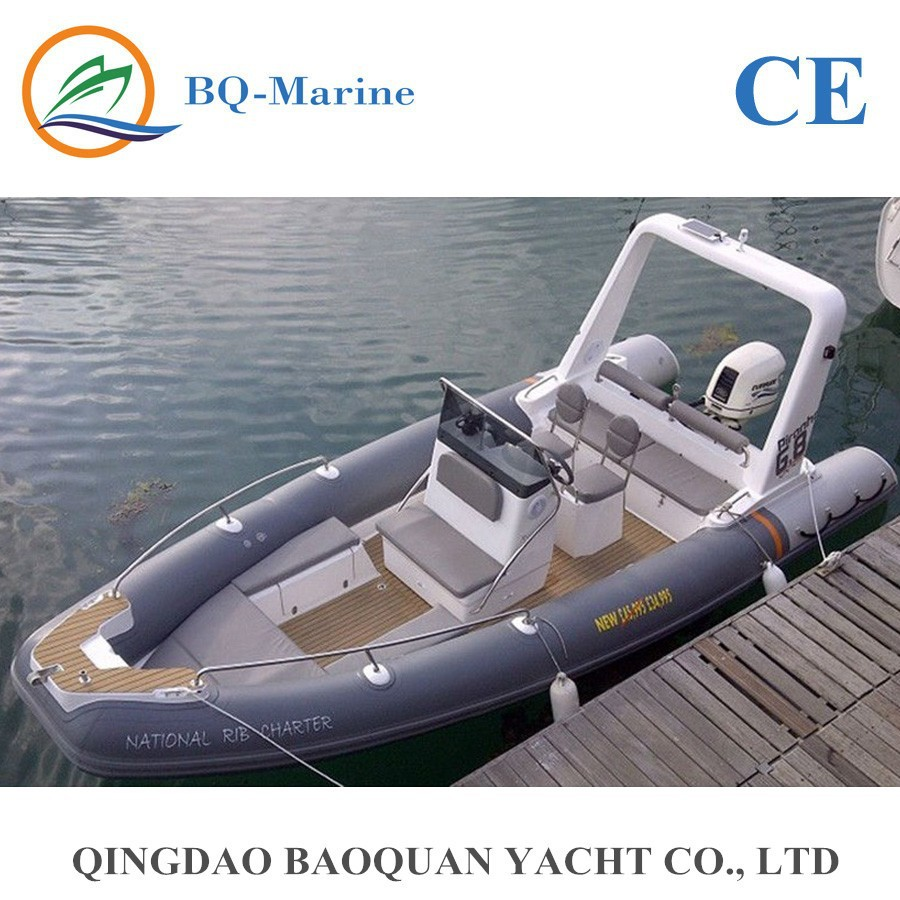 6 8 Meter Rib Hypalon Inflatable Boat For Sale With Ce Rib680a Very Hot!! -  Buy Inflatable Boat,Rib Boat,Rib Hypalon Inflatable Boat Product on