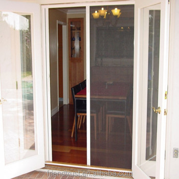 Fiberglass Insect Screen/Balcony Door Screens/Fiberglass Door Screen (Manufacturer)anufacturer)
