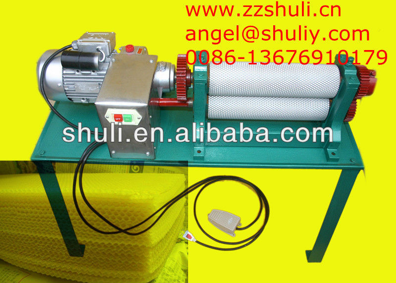 beeswax foundation mill/Apis cerana bee nest machine with top quality//0086-13676910179