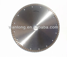 vacuum brazed and laser welded diamond concrete saw blade
