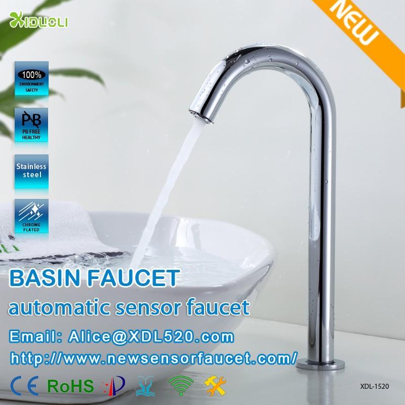 Brass Body Cheap Price Kitchen Sensor Faucet,Deck Mounted Motion ...