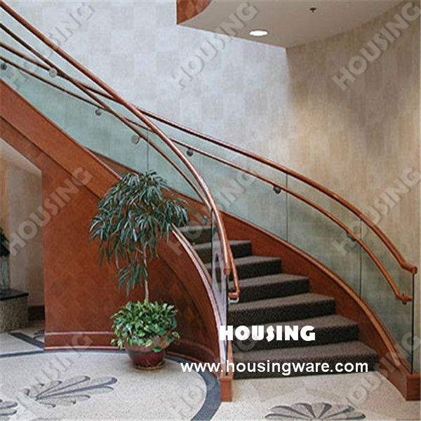 Curved U Channel Glass Railing For Curved Stair/pvc Handrail/ Tempered Glass    Buy U Channel Glass Railing,Tempered Glass Railing For Curved Stair,Stair  ...