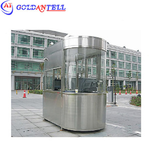 CE approved high quality factory price prefabricated houses military container sentry box