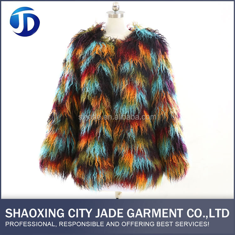 OEM ODM Service Warm Women Fur Coat For Winter