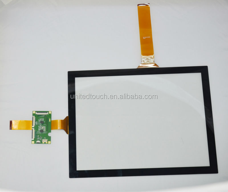 "2014 Shenzhen Professional factory CPT 15.6 ""capacitive touch screen/ panel With USB/ Rs232 interface"