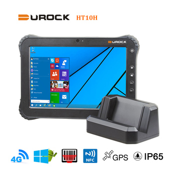 101 Inch Intel Dual Boot Windows Tablet PC With NFC RFID Reader Barcode Mobile Computer
