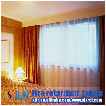 Fire Resistant Blackout Hotel Curtains - Buy Fire Resistant ...