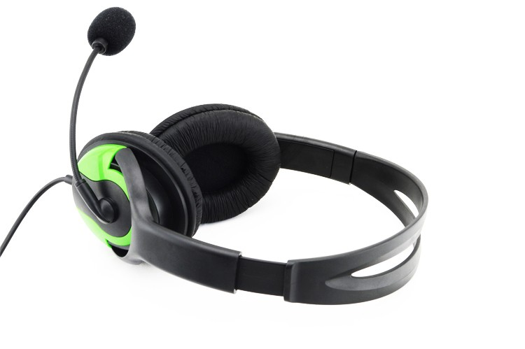 Wired Gaming Headset Earphone with Mic and Volume Control for xbox 360
