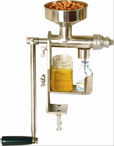 Good Manual Stainless Steel screw oil press /Extract Machine