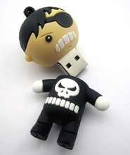 novelty super flash drives 8gb with your data uploading