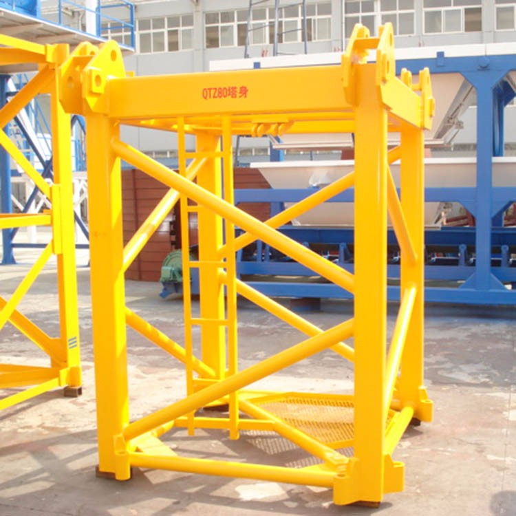 Top Supplier QTZ80 Goose-neck Jib Towers Crane Machinery