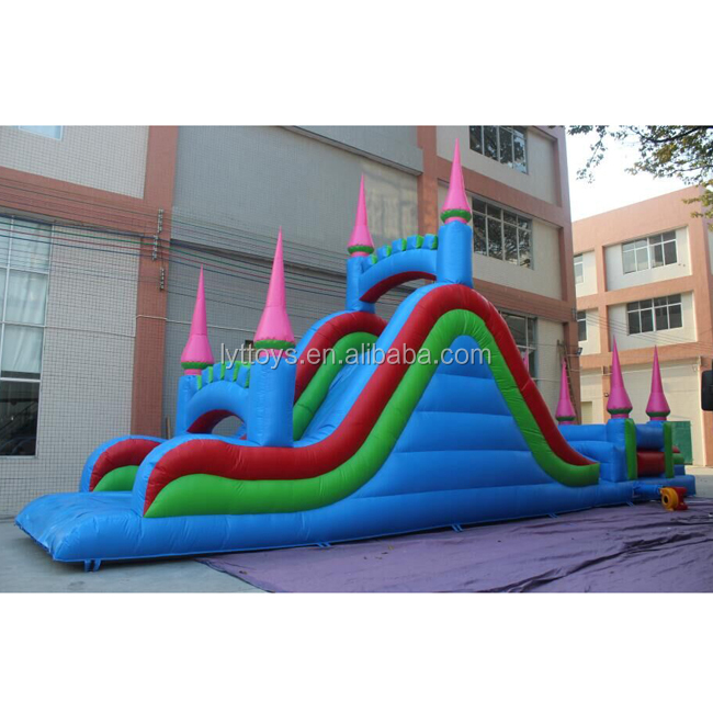 Hight quality Inflatable castle slide, inflatable slide the city for children
