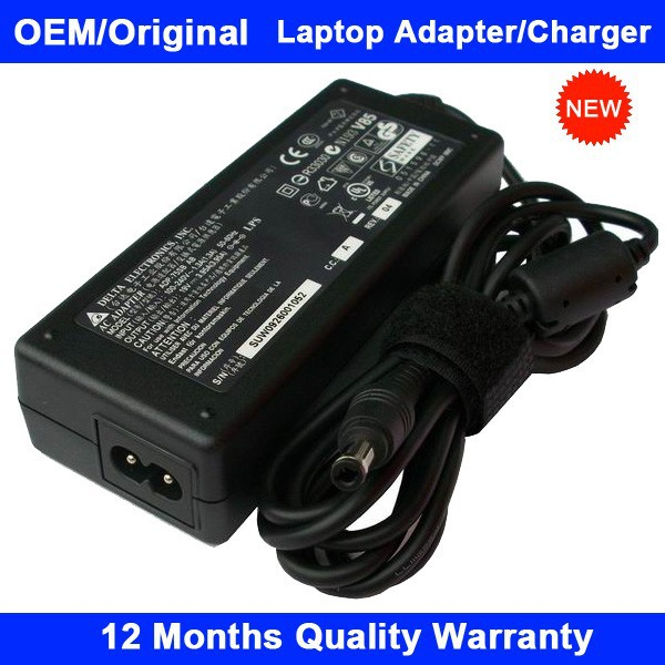 Genuine Notebook Power Charger for Gateway AC Adapter ADP-60DH REV.B 19V 3.16A 60W 5.5x2.5mm New