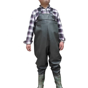 Factory Price Men's Camo Breathable Fishing Insulated Bootfoot Chest Waders