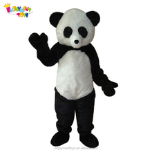 Enjoyment CE advertising adults panda mascot costume for sale