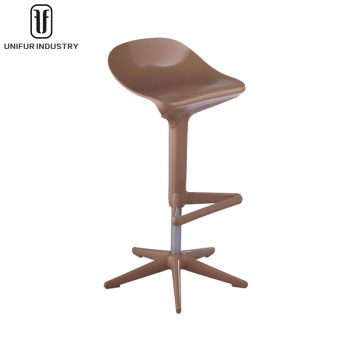 Replica Spoon Bar Stool With Adjustable Height For Hotel And Cafe Barstool