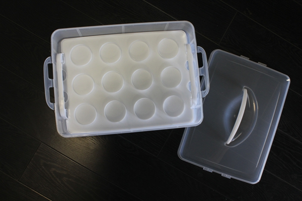 Plastic Cake Plate With Cover - Buy Cupcake Carrier,Plastic Cake ...