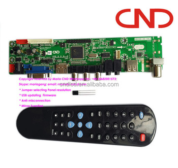 Hdvx9-as -5s V4 2 V59 Universal Led Lcd Tv Main Board With Jumper Usb Hdmi  To Lvds - Buy Hdvx9-as -5s V4 2,V59 Tv Board,Tv Mainboard Product on