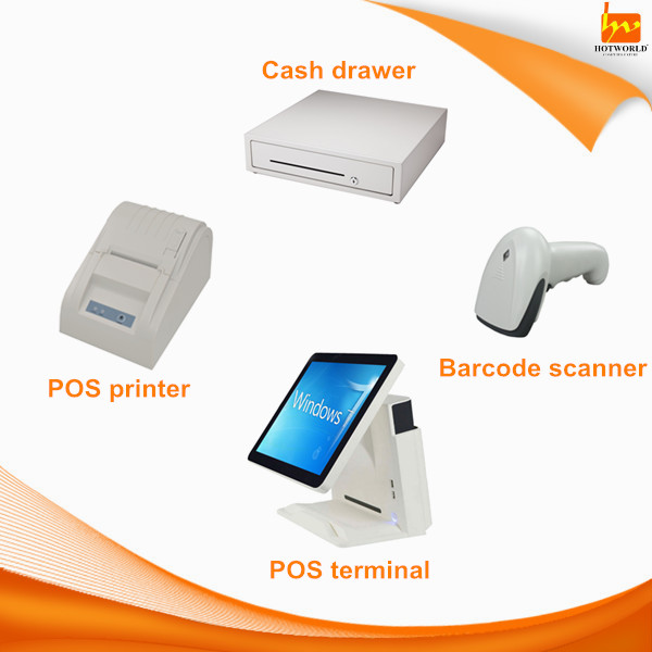 Programmable dual core 1.8GHz/i3/i5 Android win 7 payment terminal machine POS terminal