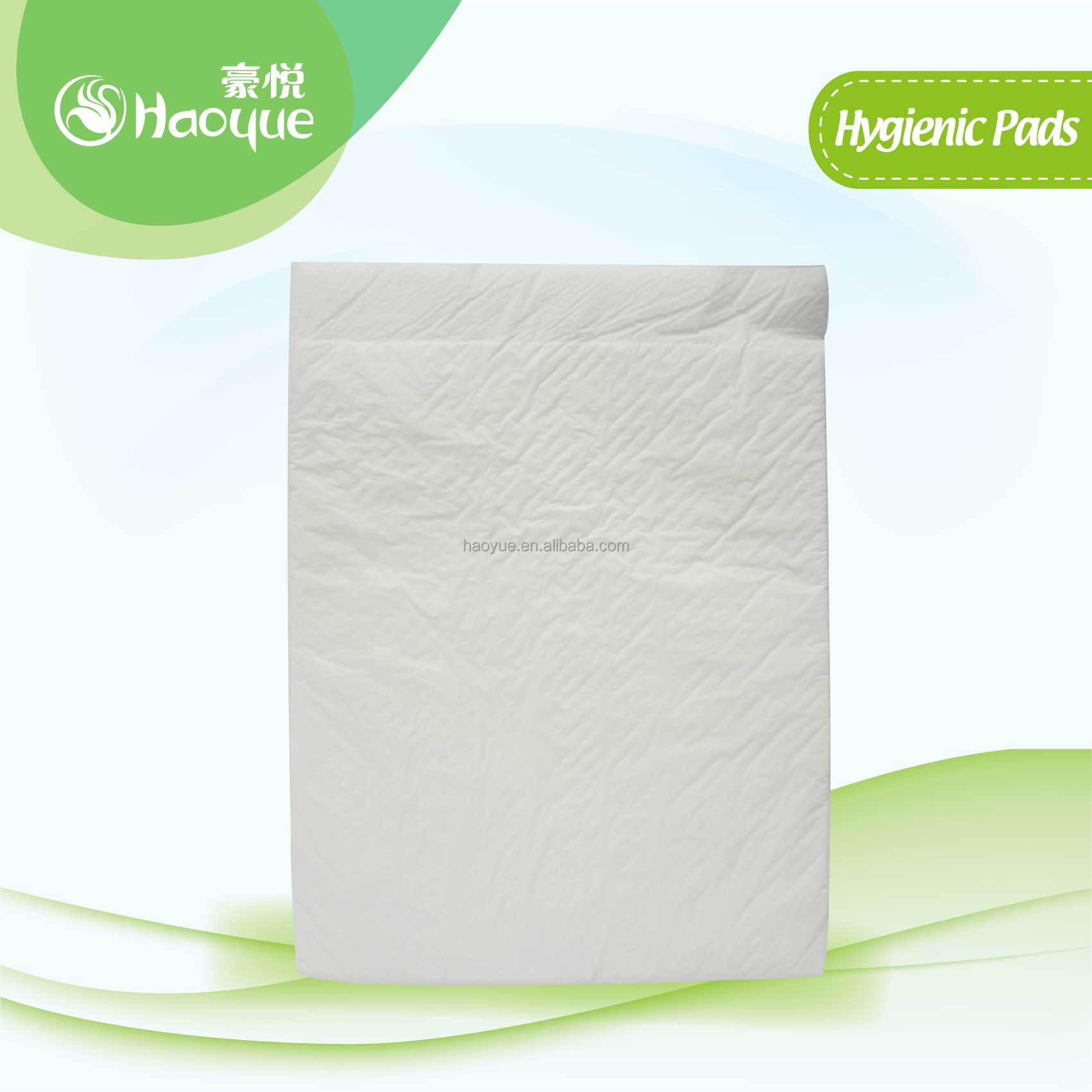 pet underpads comfrey brand manufacturer in China