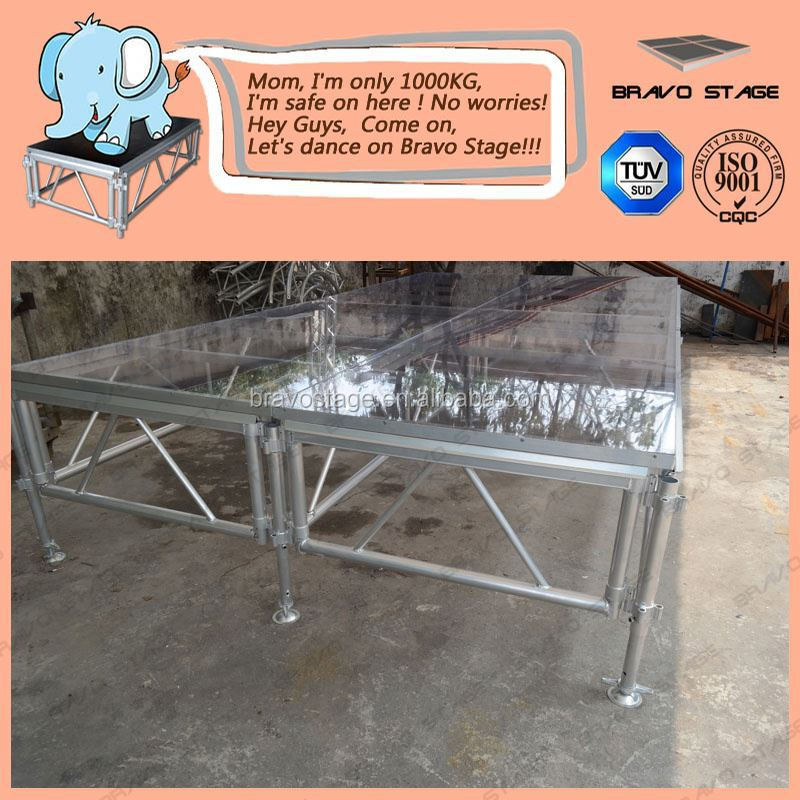Cheap Portable Stage Exhibition Booth Design/ Concerts Truss /Stage Truss