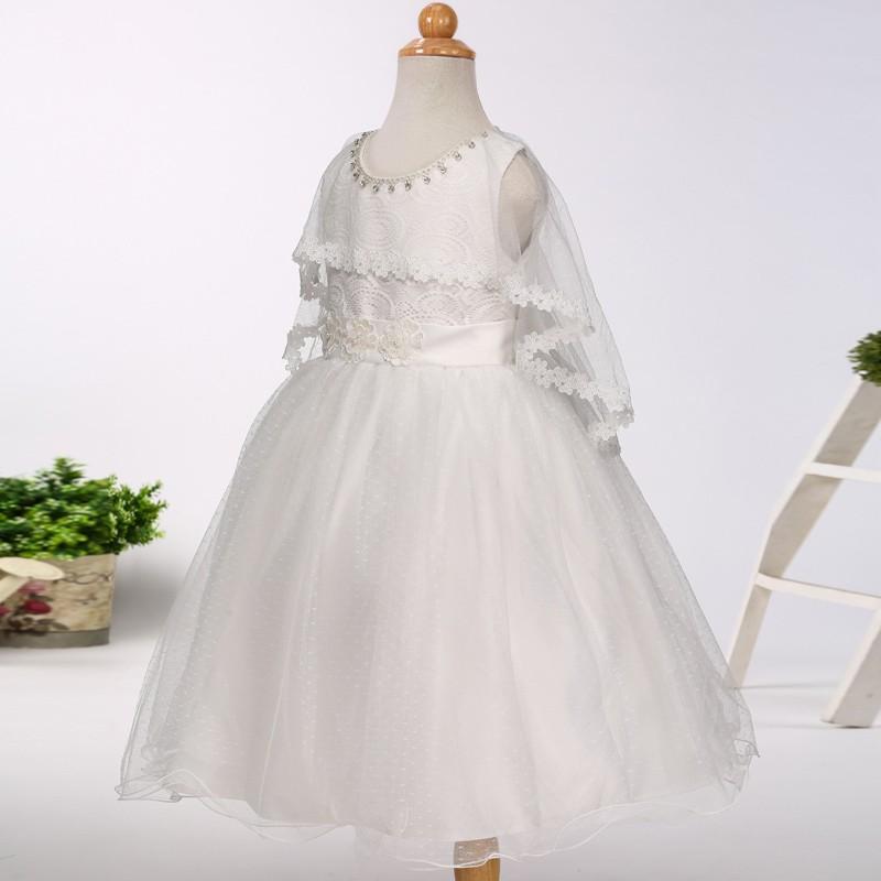Wholesale online flower girl dress kids wedding dress girls formal ...