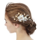 Amelie Stunning Fancy Side Comb Bobby Pin Hair Jewelry Wedding Items Bridal Hair Accessories Crystal Headpiece