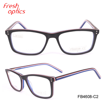 7bb96b31530 FB4608 hot sell fashionable acetate frame optical frame high quality eyewear  glass