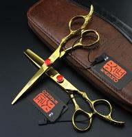 kasho high quality cutting thinning scissor shears hairdresser barber