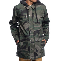 mens wear 2016 all over green camo man plus size Camo jackets