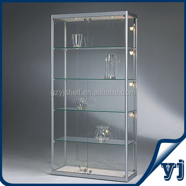 glas vitrine vitrinekast display glas fronted kasten acryl glazen display kast showcase. Black Bedroom Furniture Sets. Home Design Ideas