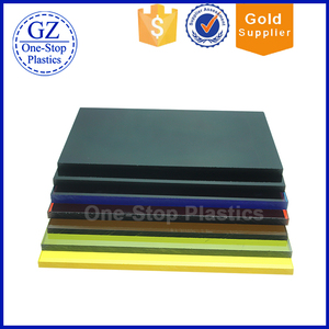 OEM professional plastic polyethylene pvc sheet plate low price cell cast acrylic sheet