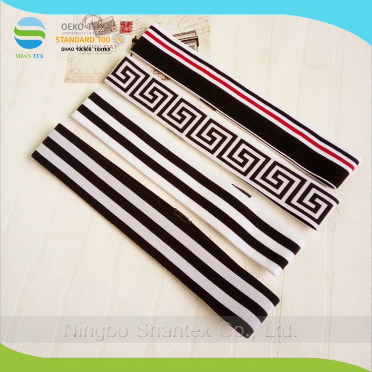 Hot Sale Soft Elastic Sports Headband With Customized Logo Printed