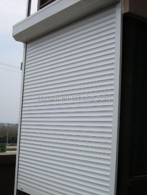 Chinese supplier galvanized steel roller shutter /rolling shutter garage doors