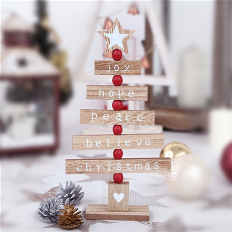 Low Price Christmas Decorations: Compare Prices On Wooden Christmas Tree Ornaments- Online