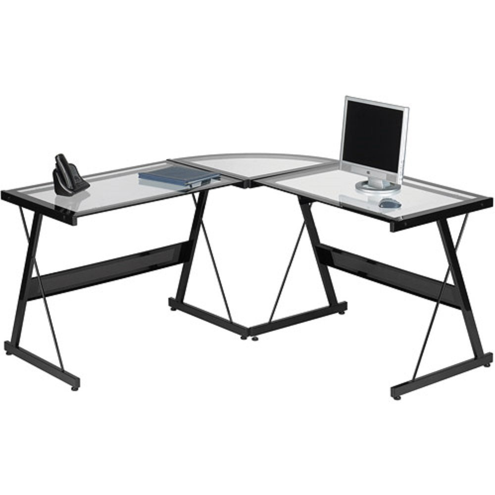 l shaped office desk cheap. Get Quotations · L Shaped Computer Desk Contemporary Laptop Workstation Perfect Piece Of Office Furniture Satisfaction Guaranteed 3 Cheap