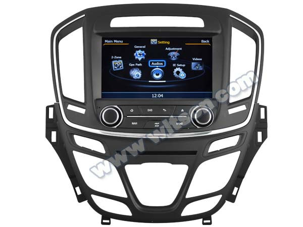 WITSON FOR OPEL INSIGNIA 2014 CAR DVD GPS NAVIGATION WITH 1.6GHZ FREQUENCY 1080P 1G DDR RAM 8GB A8 DUAL CORE CHIPSET WIFI 3G