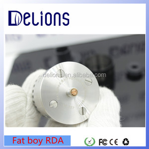 2016 Alibaba Delions new vaporizer A-bomb hot sale Alliance Fat Boy RDA Fatboy Alliance rda clone