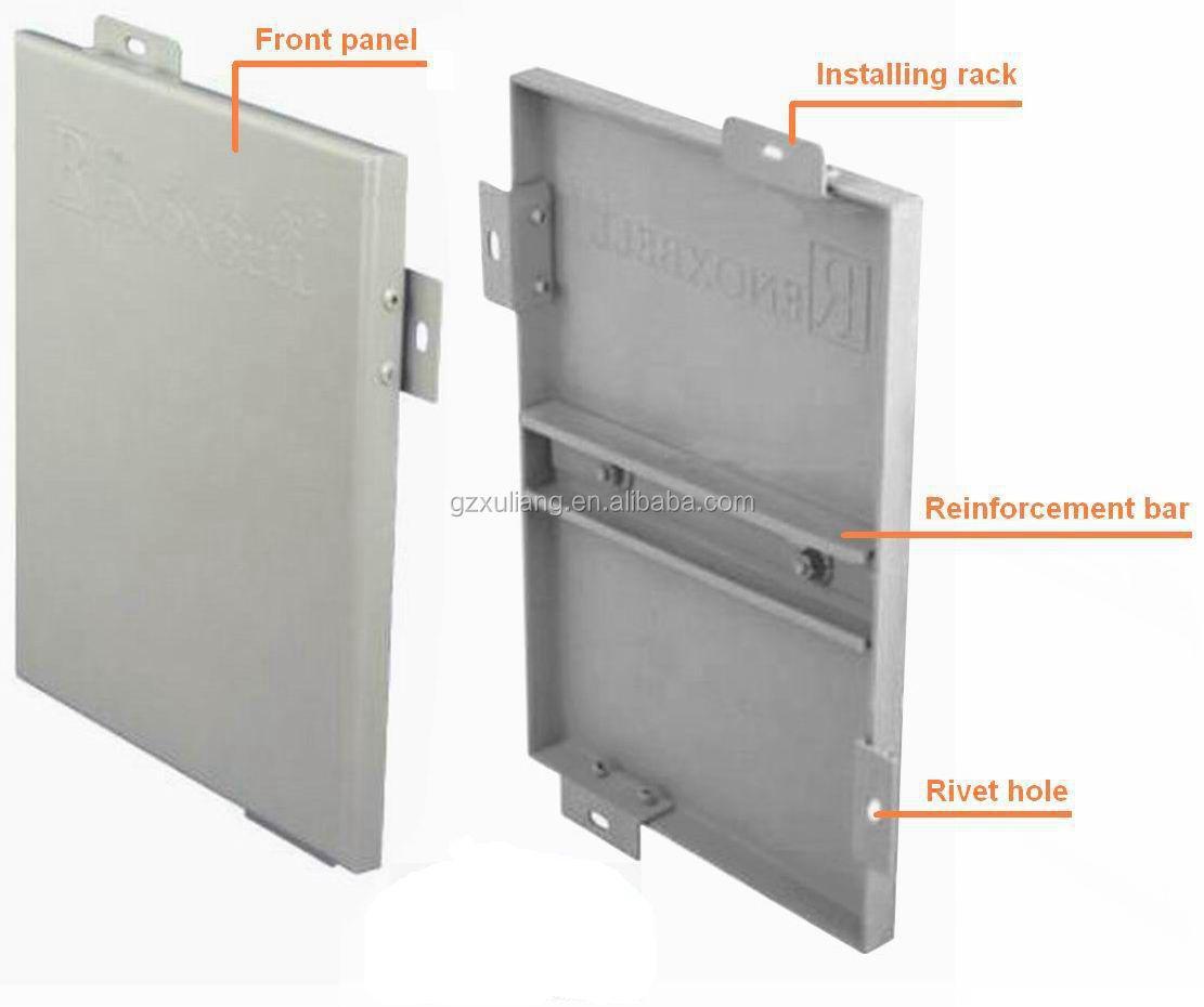 Solid Aluminium Panel Aluminum Wall Cladding Panels