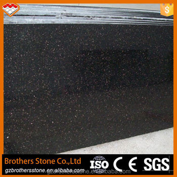 Construction Material India Black Galaxy Granite Price Cheap Natural ...