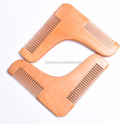 Wholesale b Beard Shaping Styling Template Tool Comb Lovely Beard Comb