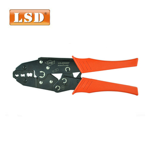 LS-2550EF LSD brand crimping plier for 25-50mm2 cable connectors crimper plier 4-1AWGwire crimping tool