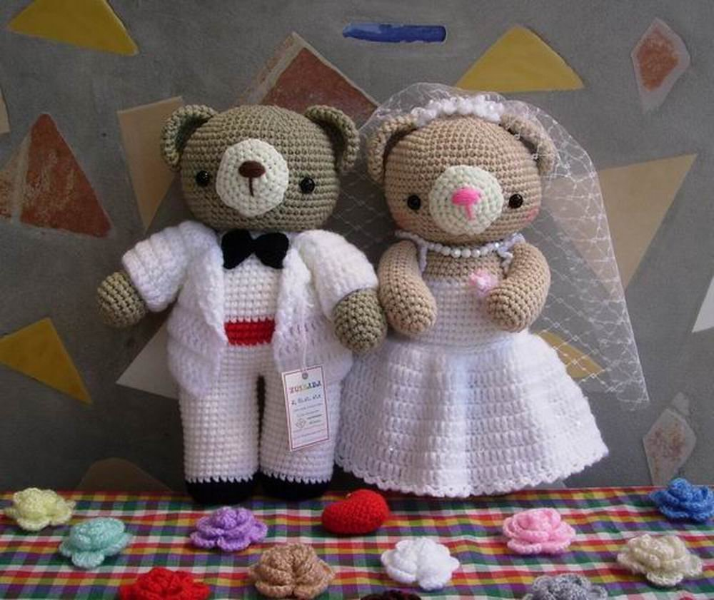 Exelent Free Crochet Barbie Doll Wedding Dress Patterns Image ...