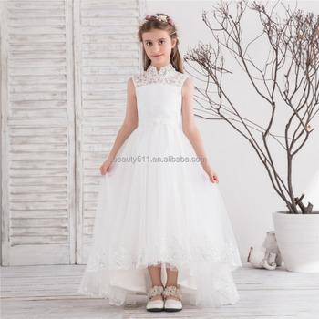 2018 Flower Girl Dress Bambini Pageant Festa Nuziale Dalla Damigella  D onore Dell abito 1b09a62da34