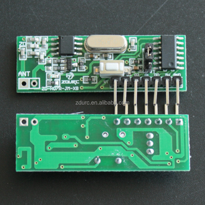 Wireless 433Mhz RF Module Receiver and Transmitter Remote Control Built-in Learning Code 1527 Decoding 4 channel output