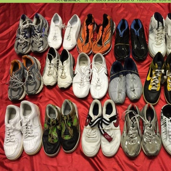 Fairly Used Shoes Unsorted Used Running Shoes
