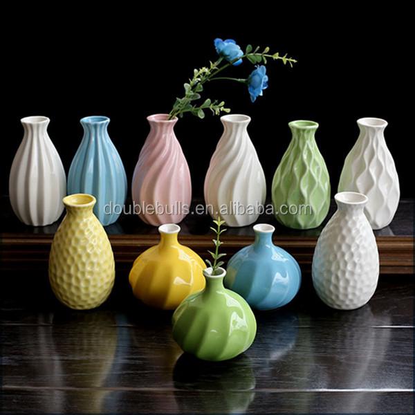 custom nueva barato mini florero de cermica china de la alta calidad para el hogar