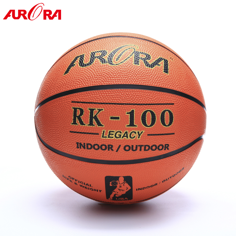 High quality offical rubber basketball  Size 7 wholesale ball